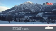 Archived image Webcam Leogang Village 02:00