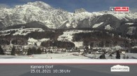 Archived image Webcam Leogang Village 04:00
