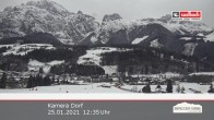 Archived image Webcam Leogang Village 06:00