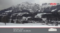 Archived image Webcam Leogang Village 08:00