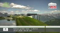 Archived image Webcam Saalbach Hinterglemm - Mt. Großer Asitz 00:00