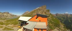 Archiv Foto Webcam Leukerbad: Panorama Gemmi Pass 08:00