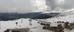 Archived image Webcam Crap Sogn Gion Terrain Park Laax 08:00