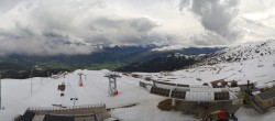 Archived image Webcam Crap Sogn Gion Terrain Park Laax 10:00