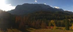 Archived image Webcam Garmisch-Partenkirchen: Elmau 04:00