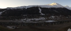Archiv Foto Webcam Livigno: Skiort und Mottolino Fun Mountain 00:00