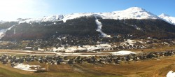 Archiv Foto Webcam Livigno: Skiort und Mottolino Fun Mountain 02:00
