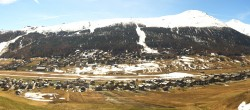 Archiv Foto Webcam Livigno: Skiort und Mottolino Fun Mountain 04:00
