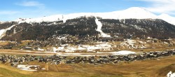 Archiv Foto Webcam Livigno: Skiort und Mottolino Fun Mountain 06:00