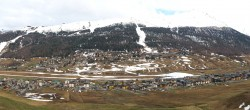 Archiv Foto Webcam Livigno: Skiort und Mottolino Fun Mountain 12:00