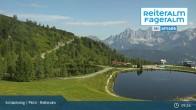 Archived image Webcam Reiteralm - Reservoir ski resort 03:00