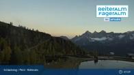 Archived image Webcam Reiteralm - Reservoir ski resort 01:00