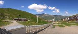 Archiv Foto Webcam Les 3 Vallées - Talstation Val Thorens 06:00