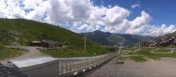 Archiv Foto Webcam Les 3 Vallées - Talstation Val Thorens 08:00