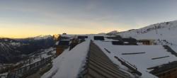 Archived image Webcam Valloire - Top station Crêt de la Brive 02:00