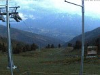 Archiv Foto Webcam Hauser Kaibling (Schladming-Dachstein) - Bergstation Sessellift 'Alm 6er' 22:00