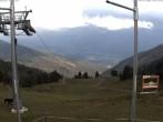 Archiv Foto Webcam Hauser Kaibling (Schladming-Dachstein) - Bergstation Sessellift 'Alm 6er' 02:00