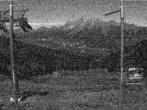 Archiv Foto Webcam Hauser Kaibling (Schladming-Dachstein) - Bergstation Sessellift 'Alm 6er' 20:00