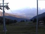 Archiv Foto Webcam Hauser Kaibling (Schladming-Dachstein) - Bergstation Sessellift 'Alm 6er' 00:00