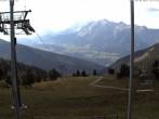 Archiv Foto Webcam Hauser Kaibling (Schladming-Dachstein) - Bergstation Sessellift 'Alm 6er' 10:00