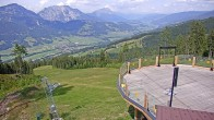 Archived image Webcam Hauser Kaibling (Styria) - Downhill Höfi Express 10:00