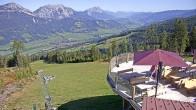 Archiv Foto Webcam Hauser Kaibling (Steiermark) - Höfi Express Abfahrt 06:00