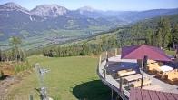Archiv Foto Webcam Hauser Kaibling (Steiermark) - Höfi Express Abfahrt 08:00