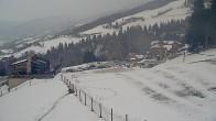 Archiv Foto Webcam Hauser Kaibling, Schladming-Dachstein - Blick von Talstation Höfi Express I 13:00