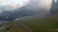 Archiv Foto Webcam Hauser Kaibling, Schladming-Dachstein - Blick von Talstation Höfi Express I 04:00