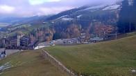 Archiv Foto Webcam Hauser Kaibling, Schladming-Dachstein - Blick von Talstation Höfi Express I 06:00