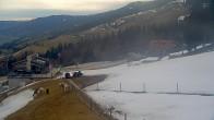 Archiv Foto Webcam Hauser Kaibling, Schladming-Dachstein - Blick von Talstation Höfi Express I 02:00