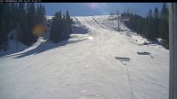 Archived image Webcam Riesneralm - Donnersbachwald: Slope 6er Schuss and chairlift Panorama 06:00