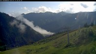 Archived image Webcam Riesneralm - Slope Nr. 9 and chairlift Panorama 02:00