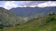 Archived image Webcam Riesneralm - Slope Nr. 9 and chairlift Panorama 08:00