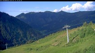 Archived image Webcam Riesneralm - Slope Nr. 9 and chairlift Panorama 12:00
