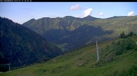 Archived image Webcam Riesneralm - Slope Nr. 9 and chairlift Panorama 14:00