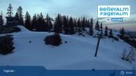 Archiv Foto Webcam Fageralm: Panoramablick Skigebiet 05:00