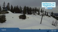 Archiv Foto Webcam Fageralm: Panoramablick Skigebiet 07:00