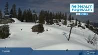 Archiv Foto Webcam Fageralm: Panoramablick Skigebiet 09:00