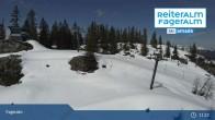 Archiv Foto Webcam Fageralm: Panoramablick Skigebiet 11:00