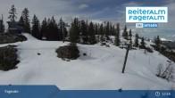 Archiv Foto Webcam Fageralm: Panoramablick Skigebiet 13:00