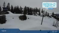 Archiv Foto Webcam Fageralm: Panoramablick Skigebiet 15:00