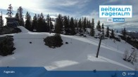 Archiv Foto Webcam Fageralm: Panoramablick Skigebiet 17:00