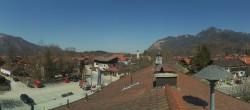 Archiv Foto Webcam Unterwössen: Blick über den Ort 08:00
