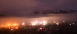 Archiv Foto Webcam Radstadt: Blick auf den Ort 20:00