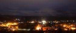 Archiv Foto Webcam Radstadt: Blick auf den Ort 23:00