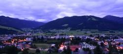 Archiv Foto Webcam Radstadt: Blick auf den Ort 22:00