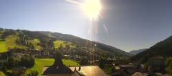 Archived image Webcam View over Saalbach - Alpinresort 02:00