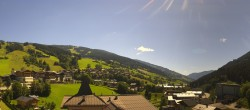 Archived image Webcam View over Saalbach - Alpinresort 04:00