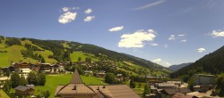 Archived image Webcam View over Saalbach - Alpinresort 06:00